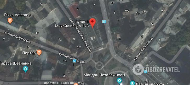 """""""Готель Козацький"""" на Майдане Незалежности"""