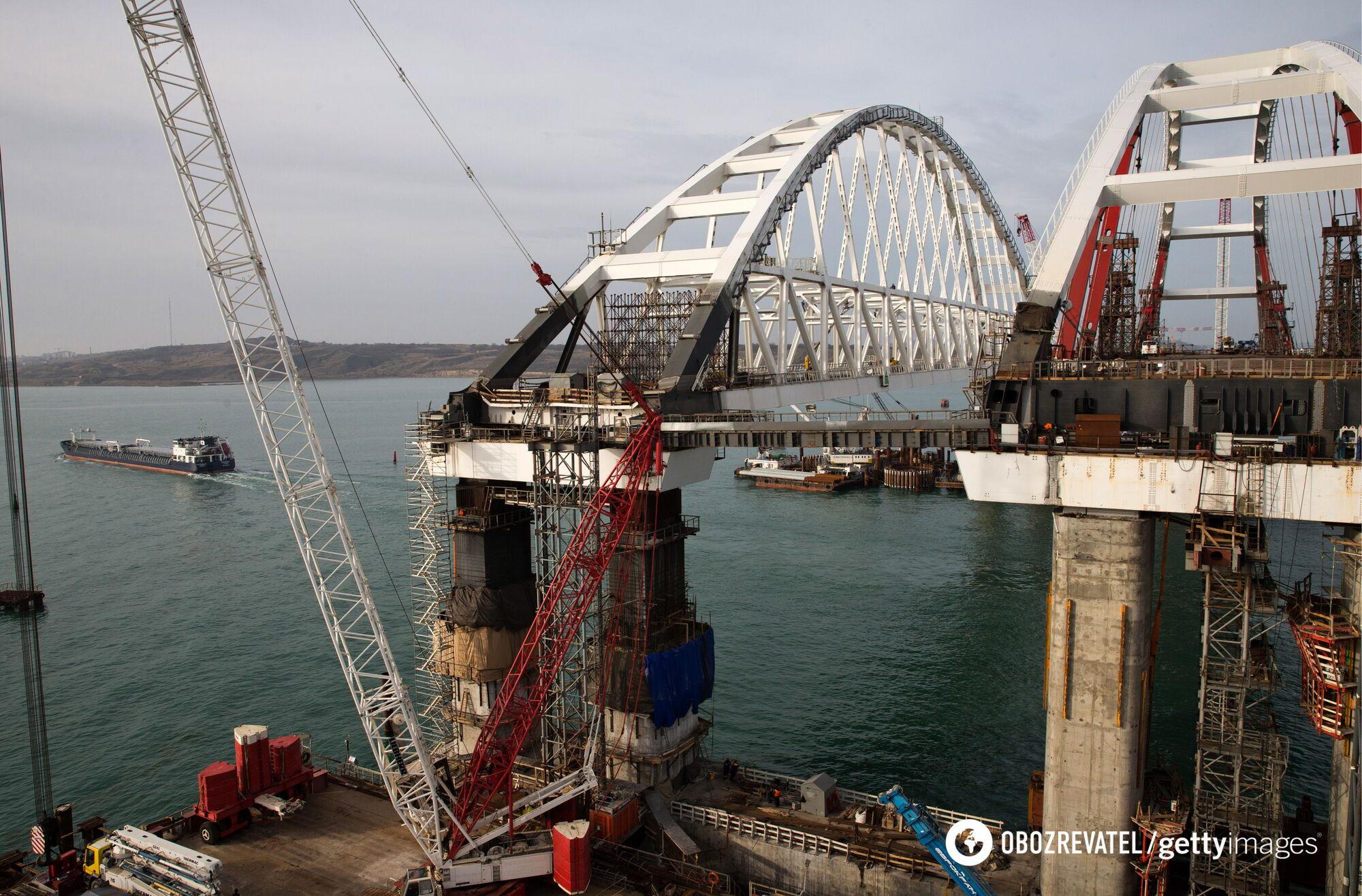 Крымский мост быстро рухнет. Есть несколько причин – эколог