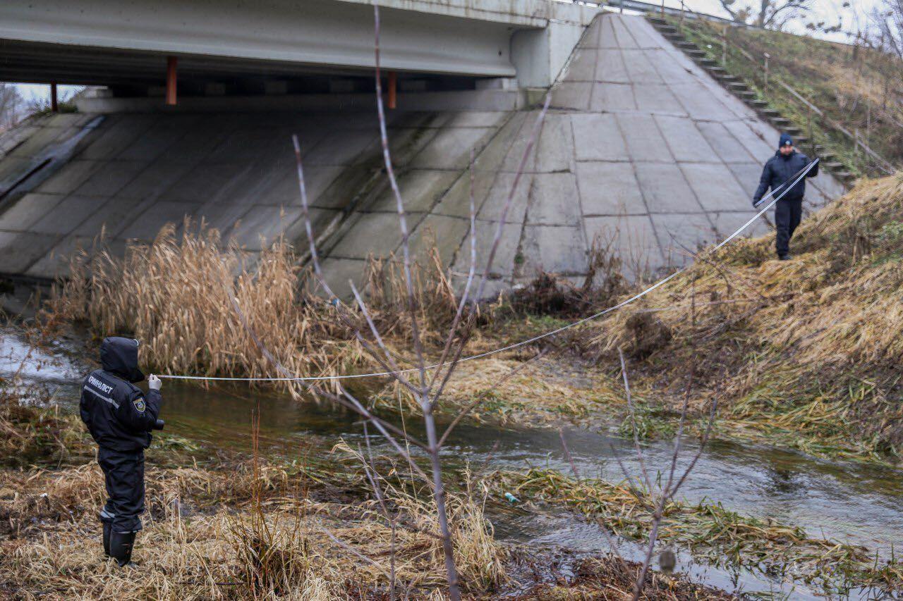 Мост через реку Козка, в которой обнаружили тело Ирины Ноздровской