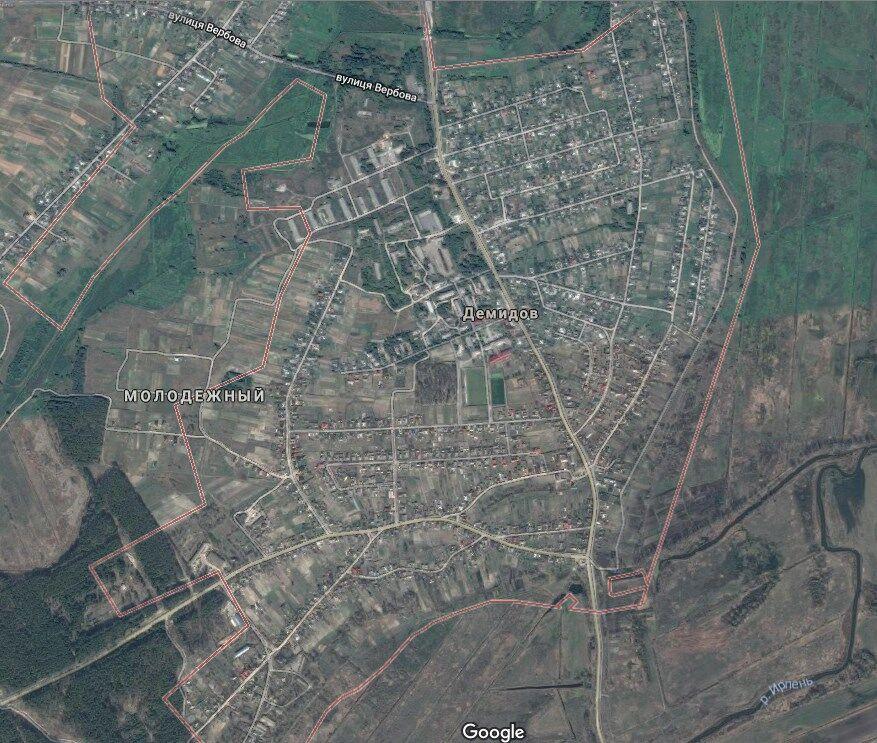 Село Демидов в Вышгородском районе Киевской области