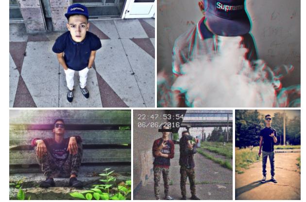 """Татуировки и камуфляж """"ДНР"""": в сети нашлись секретные фото сына террориста Гиви"""
