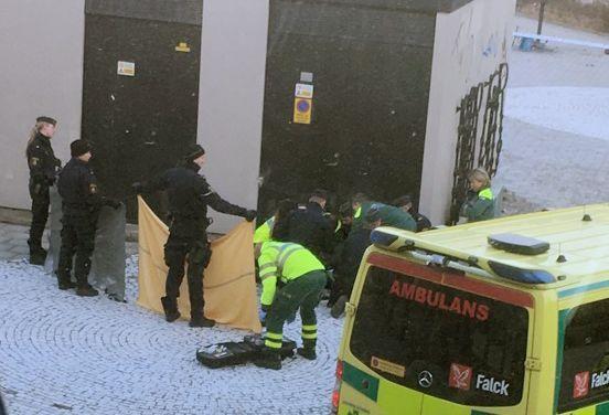В Стокгольме прогремел взрыв: есть погибший и раненая