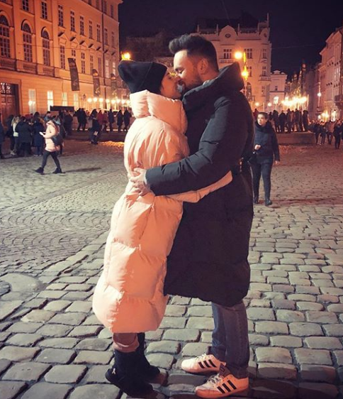 Тимур Мірошниченко та Інна Рудник