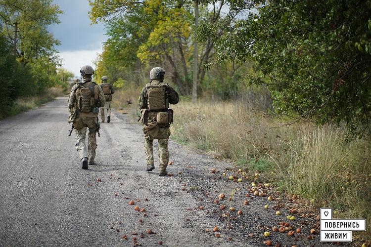 Бойцы ОС вернули новый населенный пункт