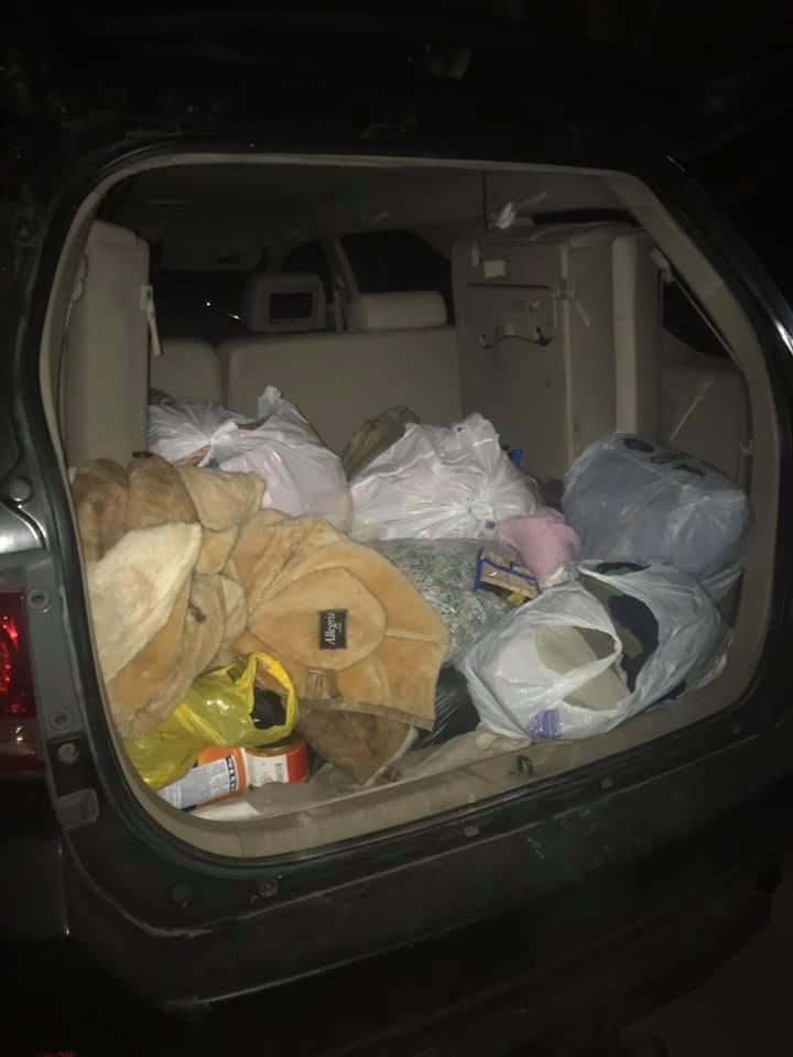 З'явилися фото ночівлі евакуйованих із Ічні