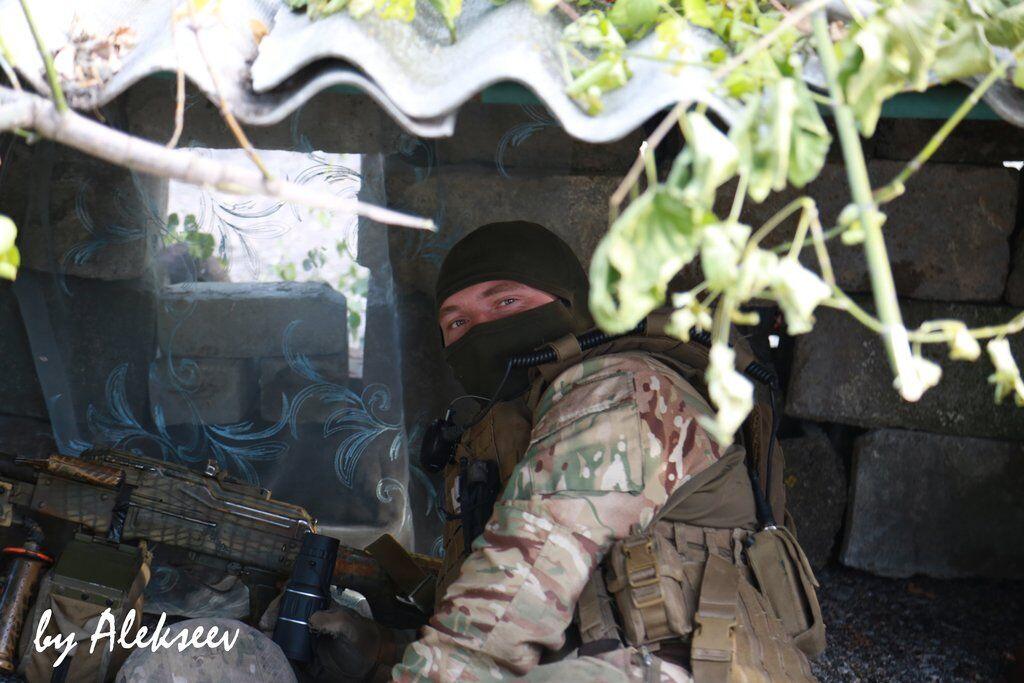 Прорвались вглубь: бойцы ОС вернули новый населенный пункт на Донбассе