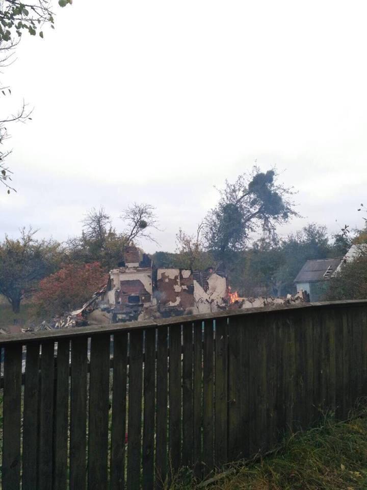 Деякі будинки в Августівці повністю зруйновані