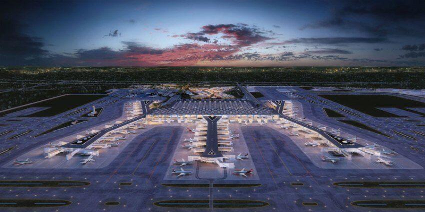Самый большой в мире: в Турции откроют новый аэропорт