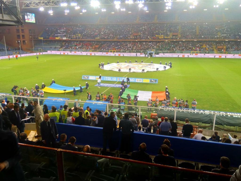 Историческая ничья! Италия – Украина - 1-1: онлайн-трансляция товарищеского матча