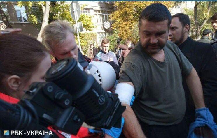 В Киеве под МВД произошли потасовки: все подробности