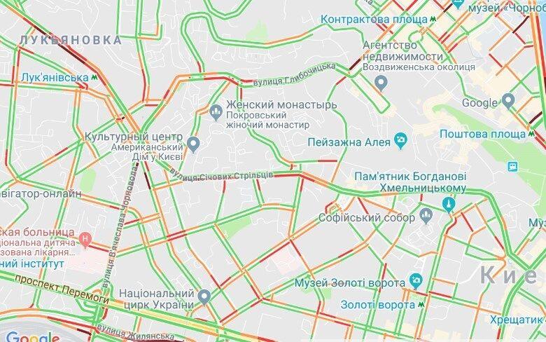 В Киеве евроавто перекрывали дороги: что из этого вышло