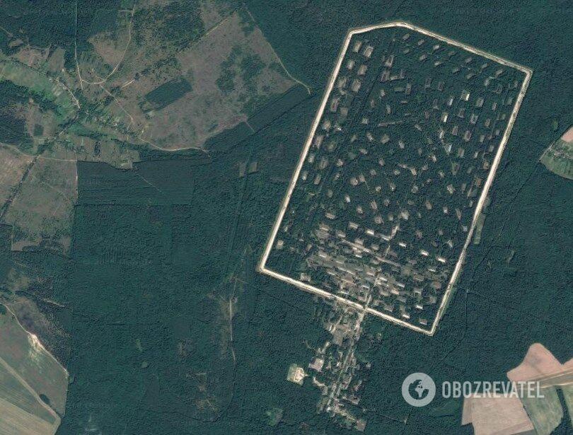 Территория 6-го арсенала в Черниговской области