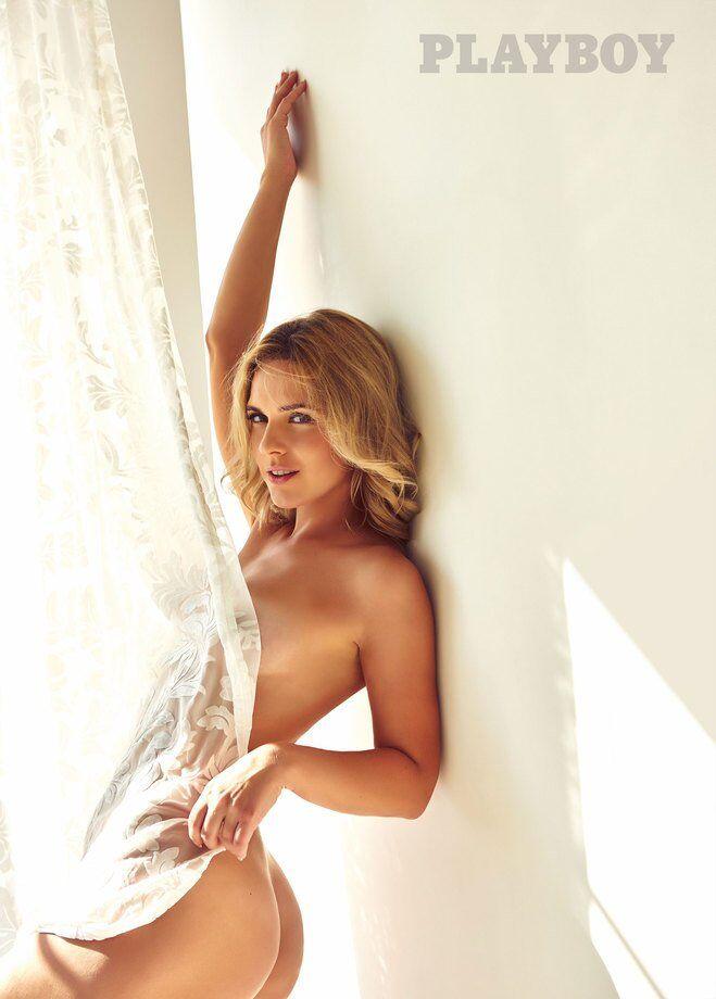 Українська телеведуча роздяглася для Playboy: гарячі фото