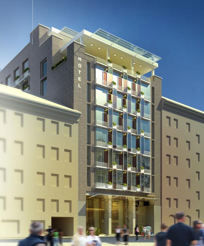 Стало відомо, як виглядатиме готель на місці легендарного кінотеатру в Києві