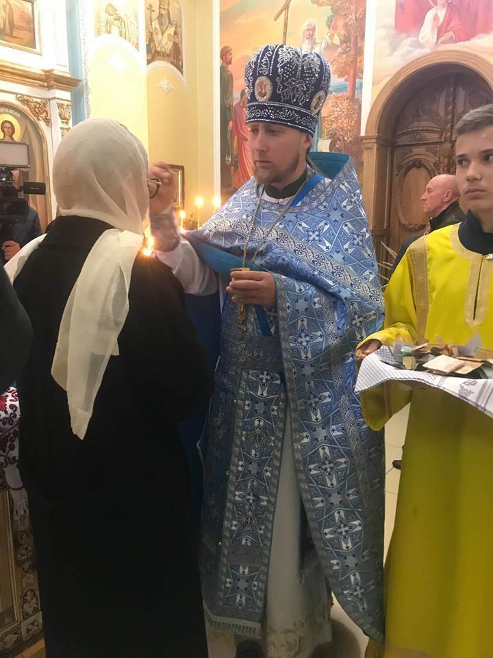 Тимошенко отметила Покрову на Донбассе: фото