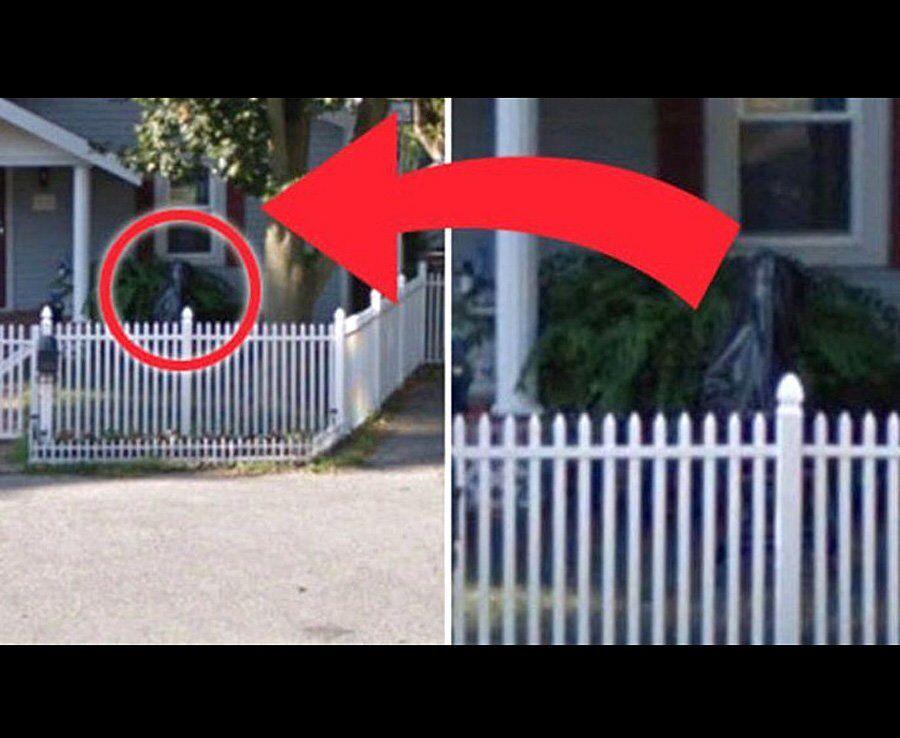 В сети показали призраков на Google Maps
