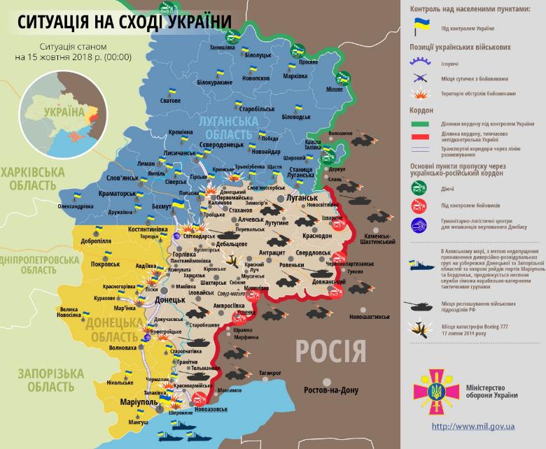 ЗСУ зазнали втрат на Донбасі