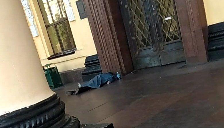 В Харькове на вокзале нашли труп