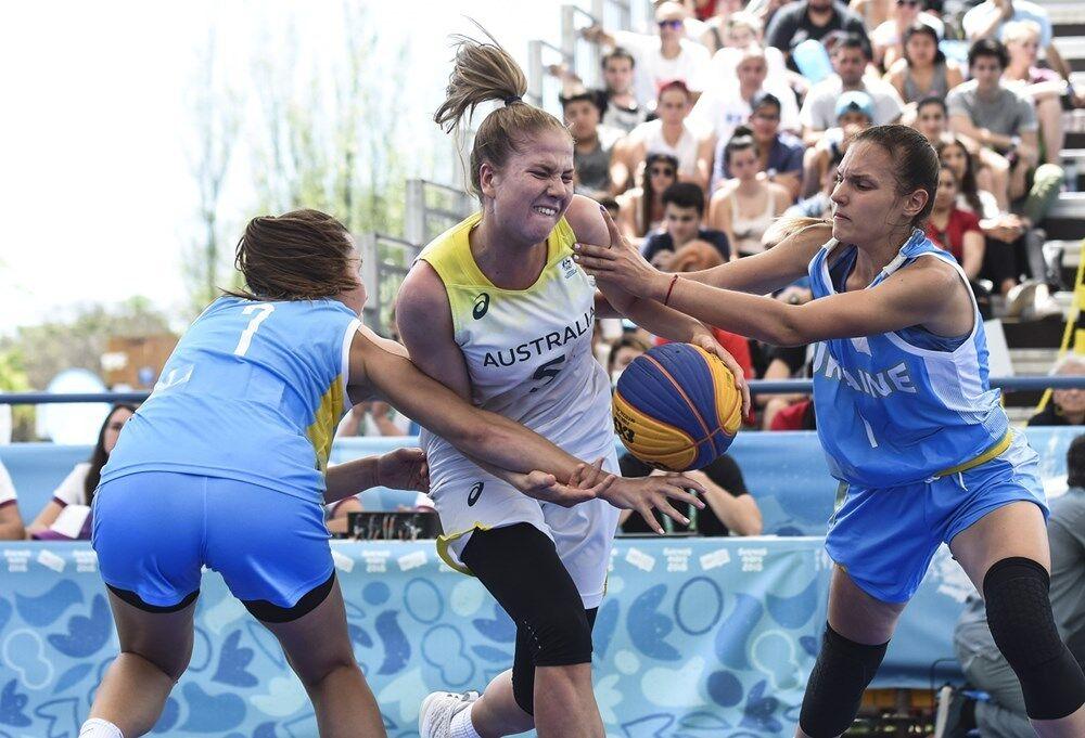 Украинки не смогли выйти в полуфинал ЮОИ в баскетболе 3х3