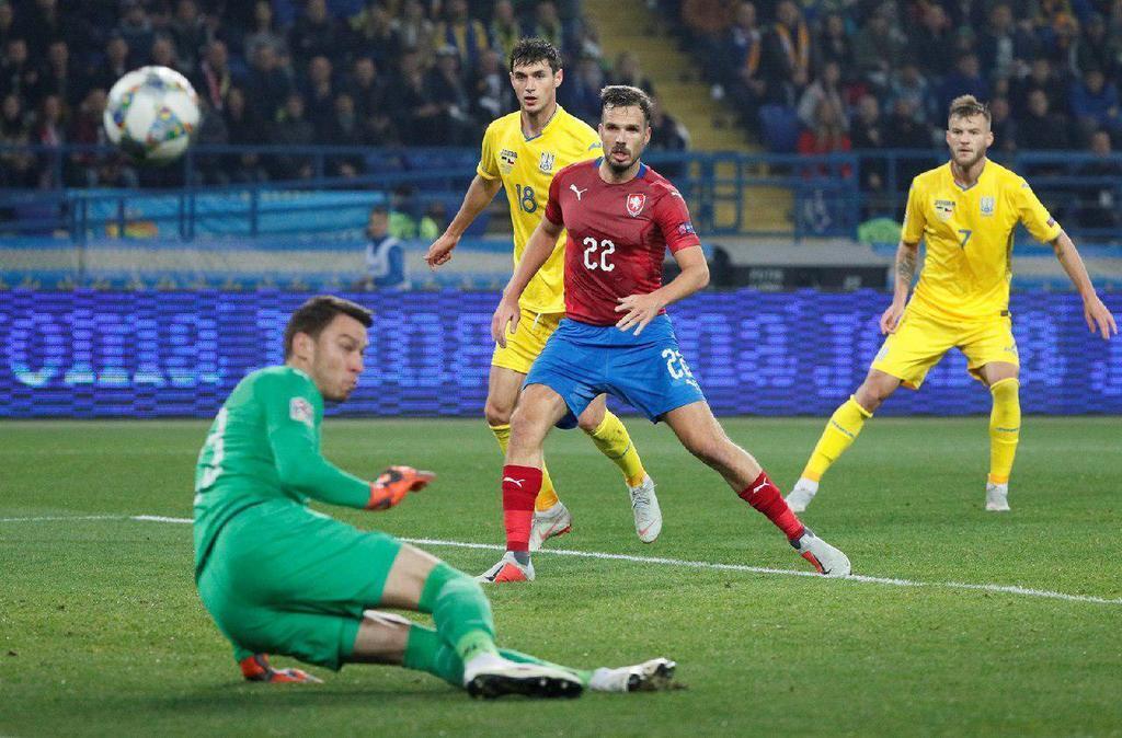 Украина - Чехия