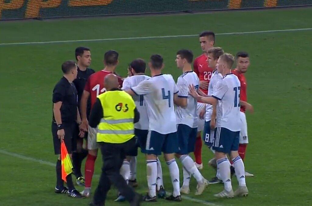 Австрия U21 - Россия U21