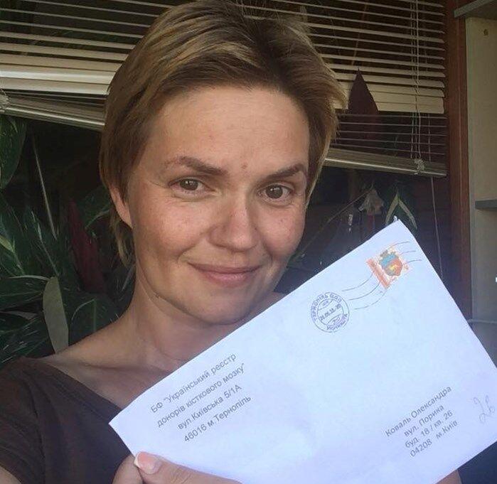 Леся Литвинова хоче стати потенційним донором кісткового мозку