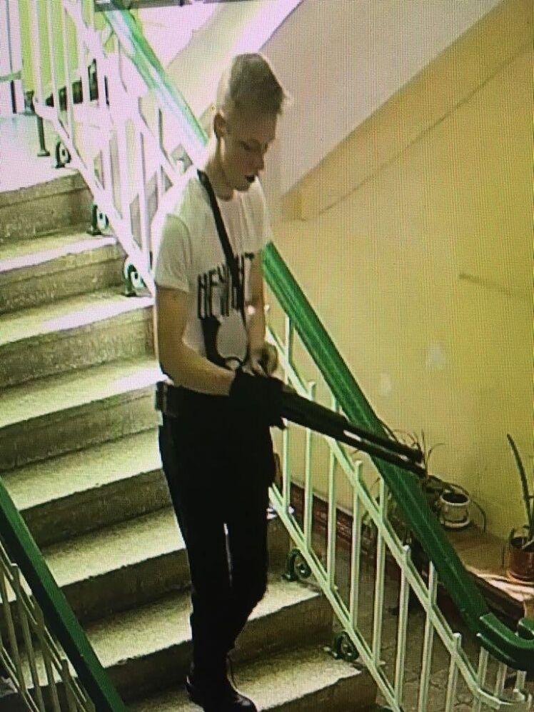 """Фото Путина и убийство """"Колумбайн"""": что известно про террориста из Керчи"""