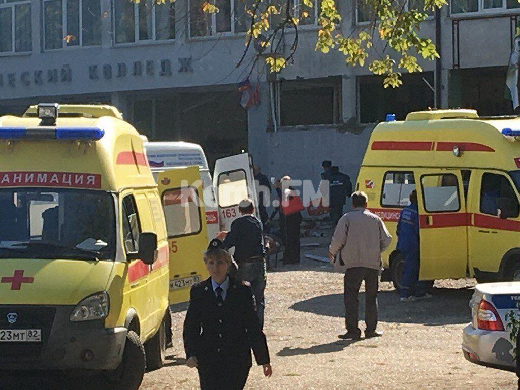 Вибух у технікумі в Керчі: озвучено причину