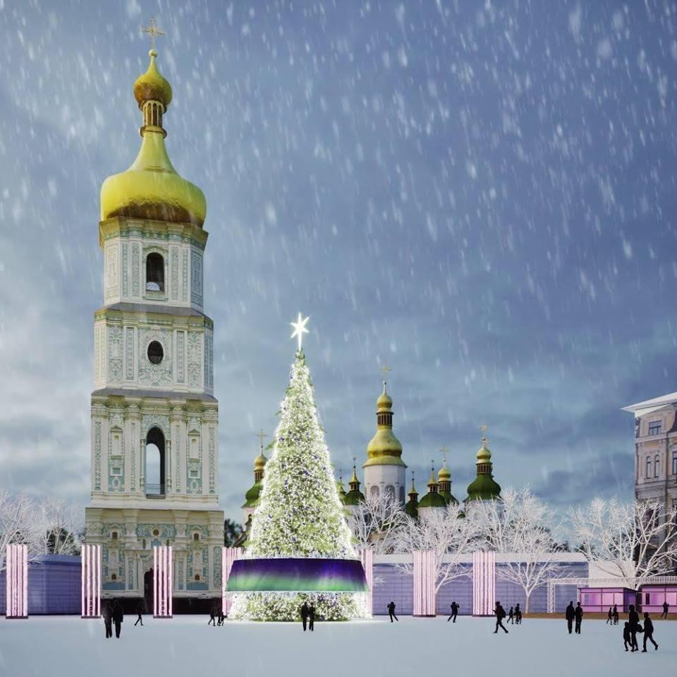 Стало відомо, як виглядатиме головна ялинка України: фото
