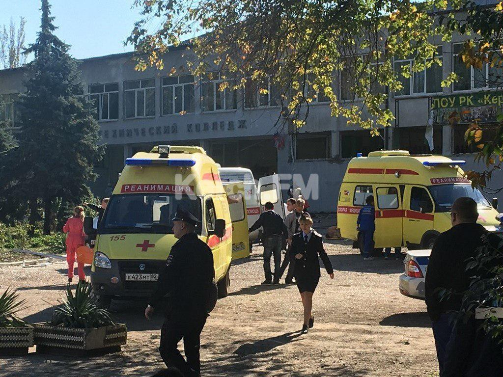 Кровавый взрыв в Керчи: появились первые фото с места ЧП