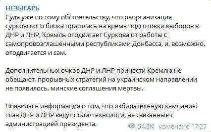 Кремль ''відійшов'' від ''Л/ДНР'': з'явилася нова інформація