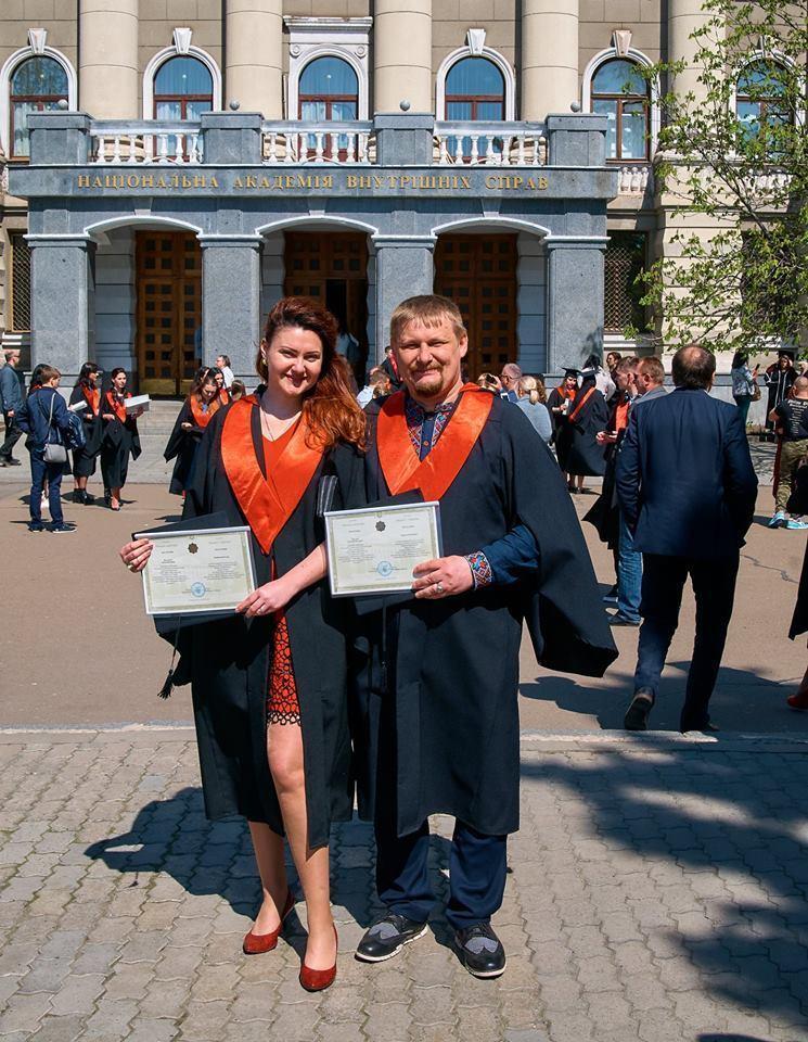 Григорій Ляхович із дружиною
