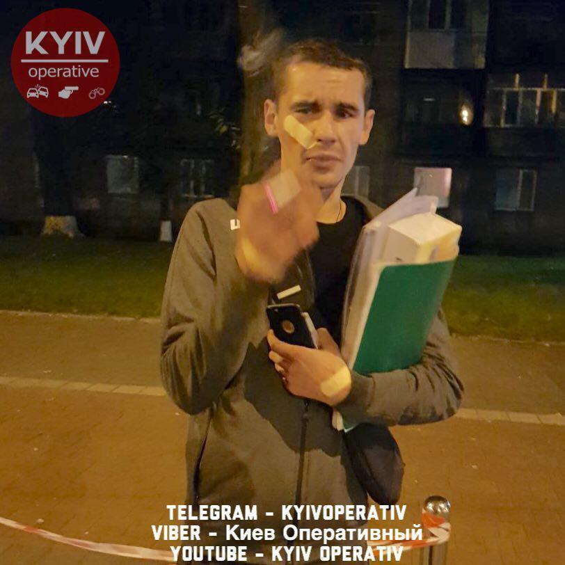 У Києві розбився п'яний поліцейський