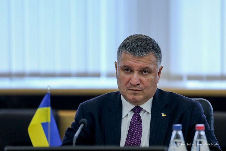 Арсен Аваков на переговорах із Беном Уоллесом