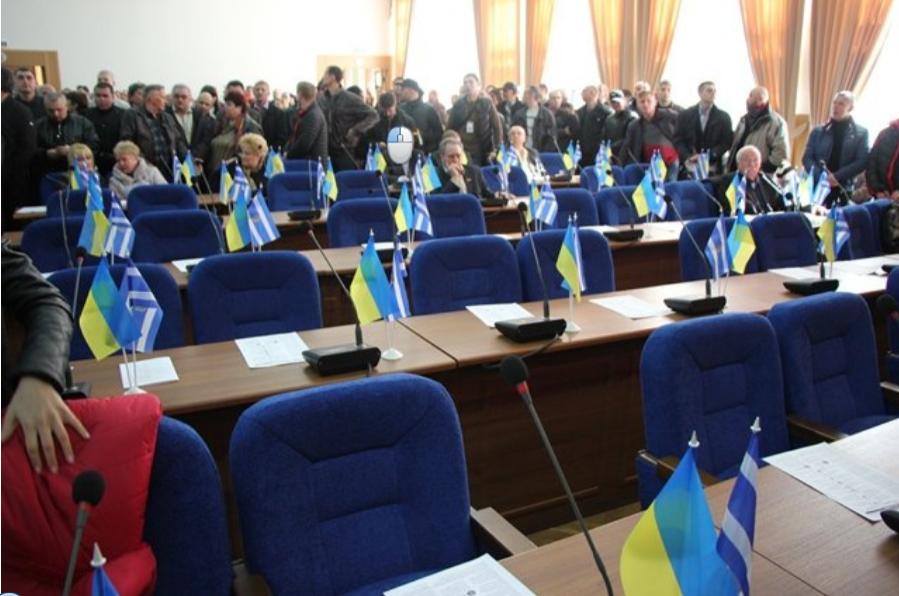 Областной город Украины отказался от русского языка