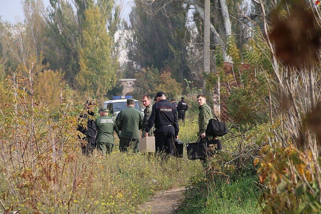 Теракт в Керчи: появились фото с ''полигона'' Рослякова