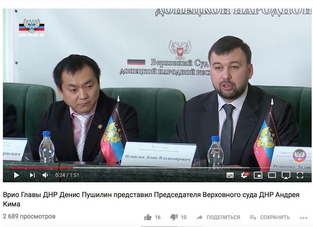 Андрій Кім (зліва)