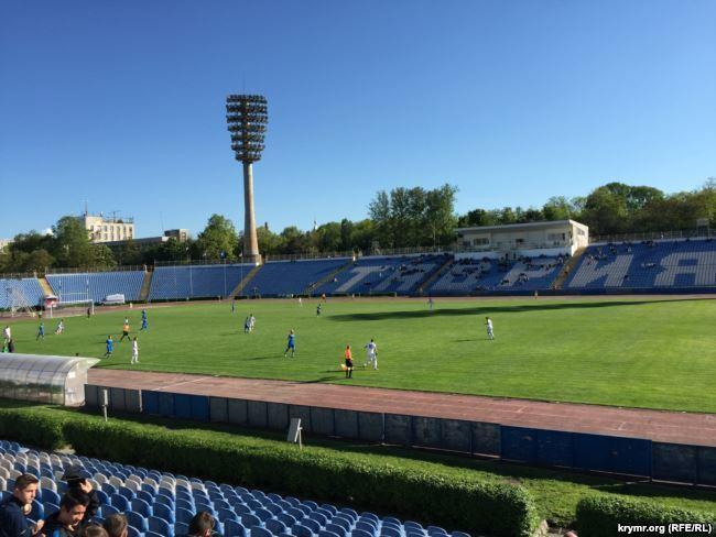 Стадіон Таврії в Криму до окупації
