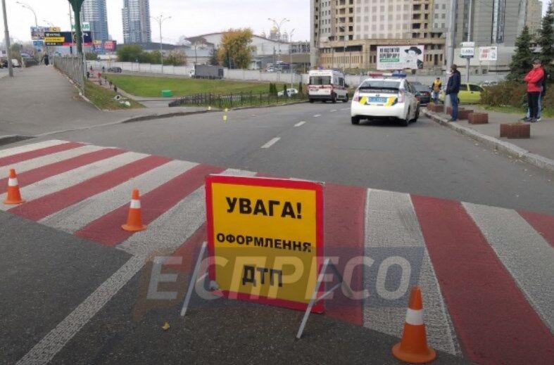 У Києві сталася смертельна ДТП на переході