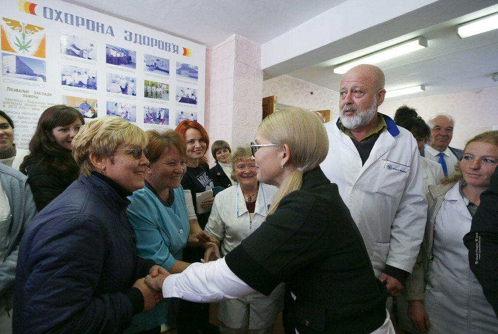 Команда Тимошенко підготувала нову концепцію медреформи