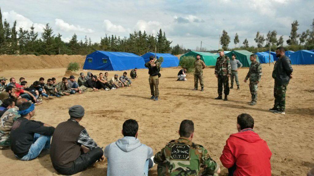 Подготовка охотников на ИГИЛ