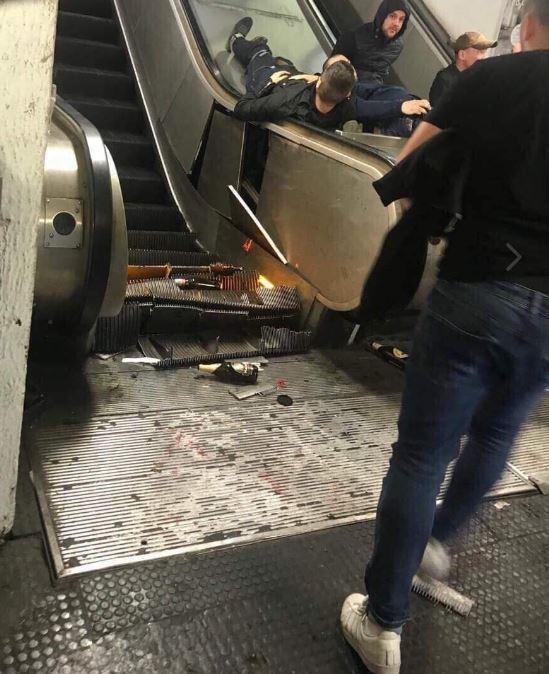 Оторвало ногу: российские фаны угодили в кровавое месиво в Риме