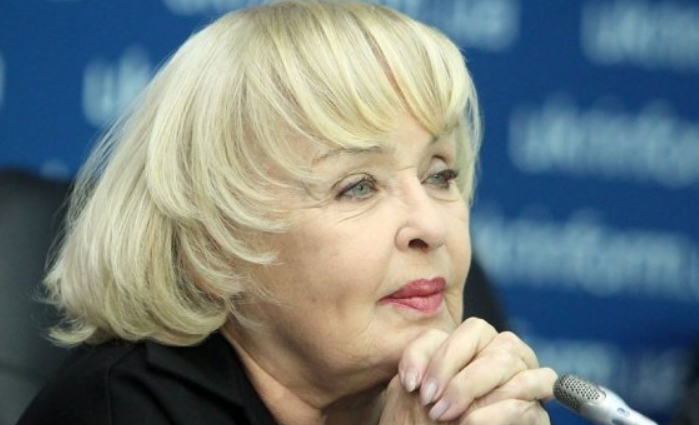 Народная артистка Украины стала прабабушкой