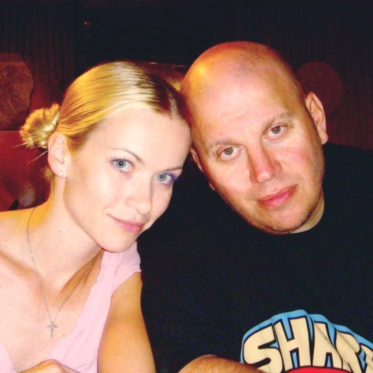 Михайло Бродський із дружиною
