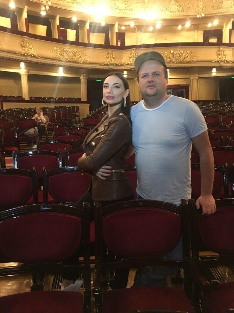 З балериною і зіркою кліпу Катериною Шишпор