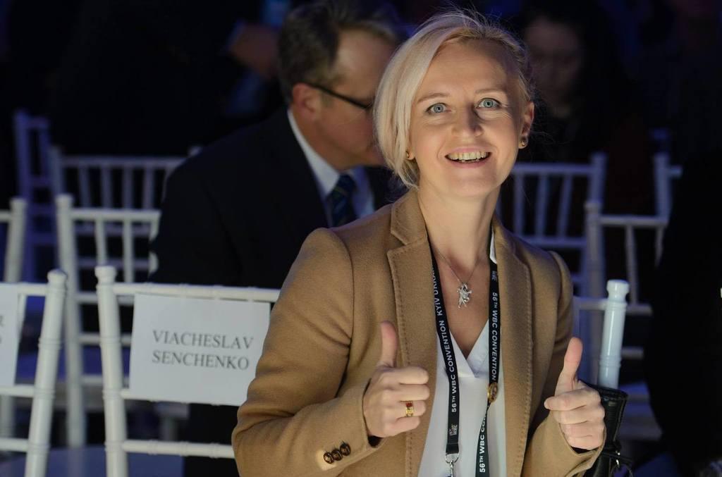 Алина Шатерникова на Конгрессе WBC