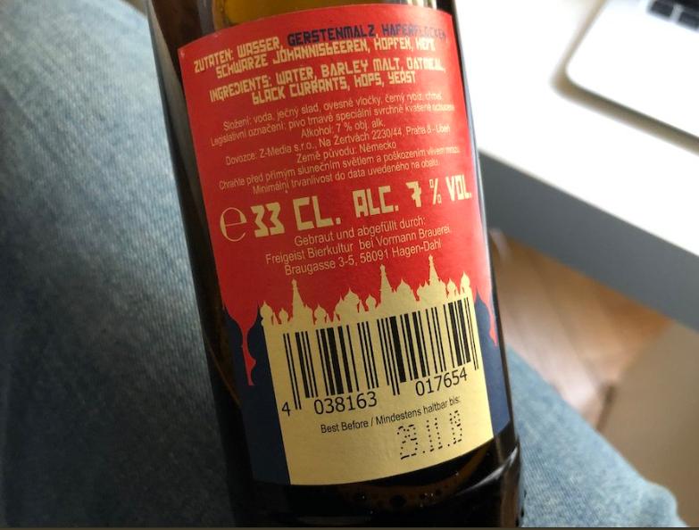 В Германии випустили пиво имени Путина: фотофакт