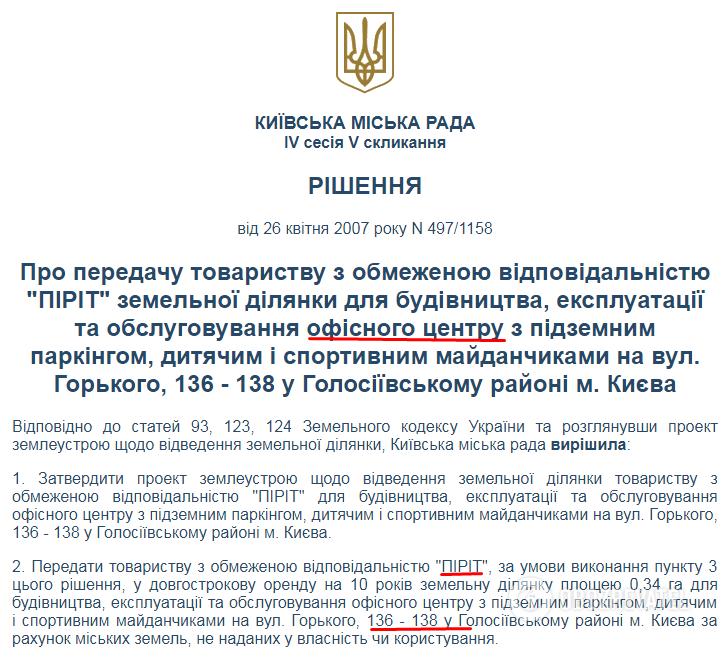 Закон не писан: раскрыта схема беспредельной застройки Киева