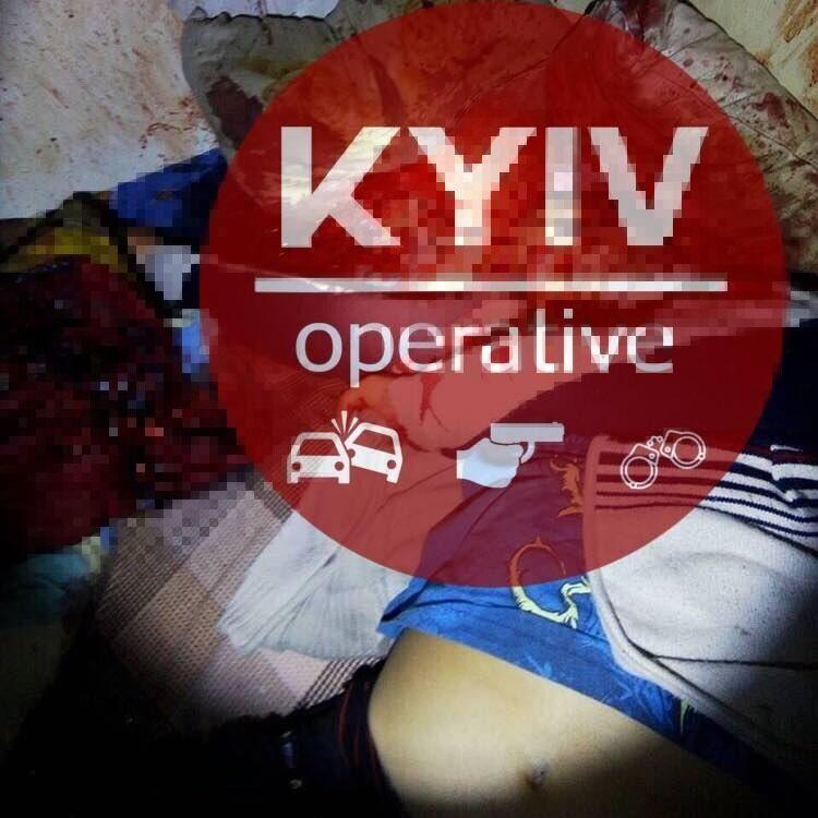 В Киеве произошло зверское убийство. Фото 18+