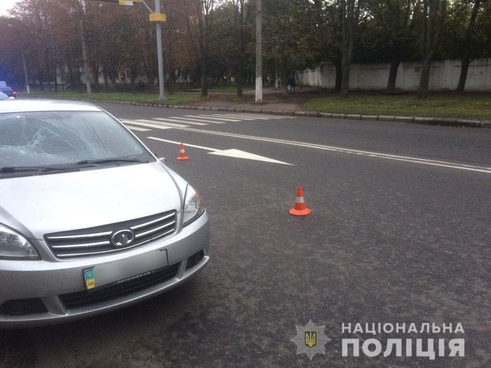У Кременчуці авто збило пішоходів: фото
